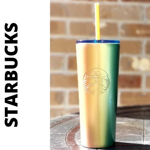 RARE SB Orange/Green Ombre Gradient SS Cold Cup